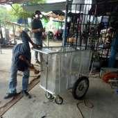 รถเข็นปุ๋ย ภาคเกษตร 24V250W
