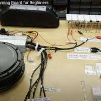ตัวอย่างบอร์ดสาธิต-เรียนรู้-อุปกรณ์-ระบบรถไฟฟ้า-ev-learning-kit